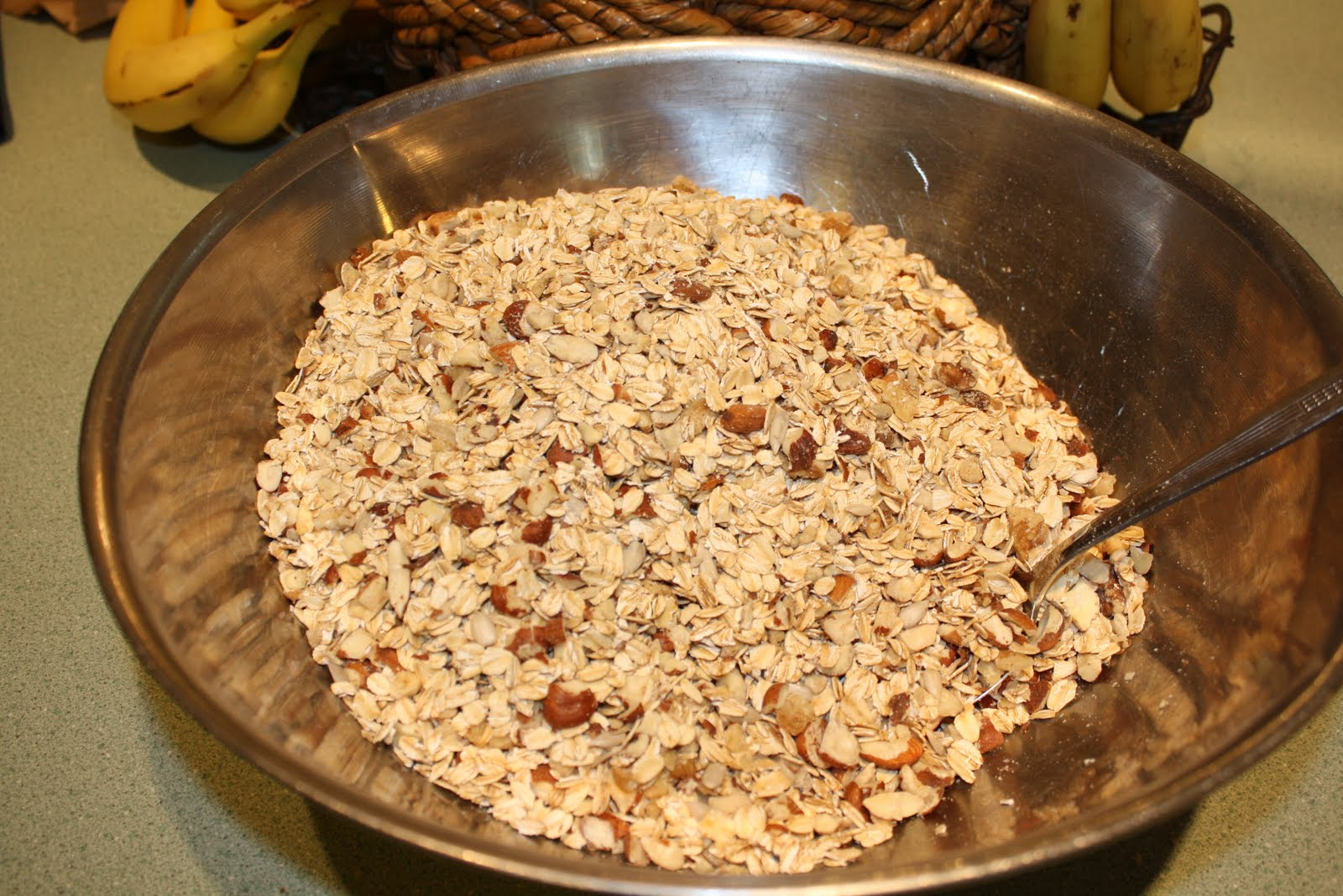 how to make granola with maple syrup