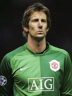Edwin Van dersar  Biograf, goalkeeper van der sar