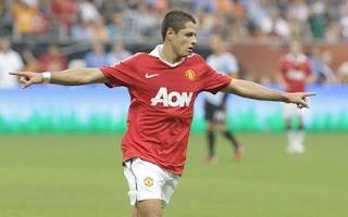 Javier Hernandez Celebration with New Team, Hernandez celebration with Man united, Hernandez celebration