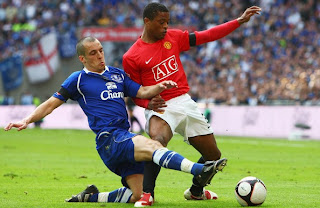 everton versus man united draw barclays premier league 2010, result barclays premier league, result epl, everton vs man united 2010, man utd draw