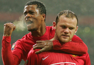 Evra wallpaper, evra man united wallpaper, Evra, Rooney, Rooney wallpaper