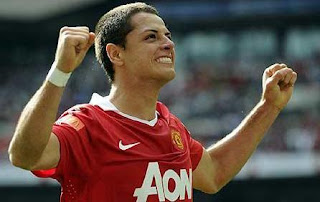 javier hernandez man utd, wallpaper, chicarito