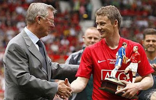 solskjaer, trophy, man unted