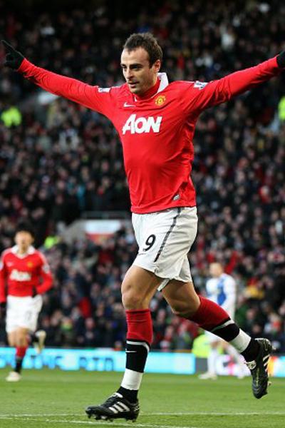 Dimitar Berbatov 2011 Manchester United