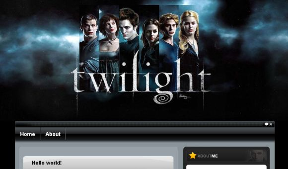 Free Wordpress Twilight Windows XP Theme