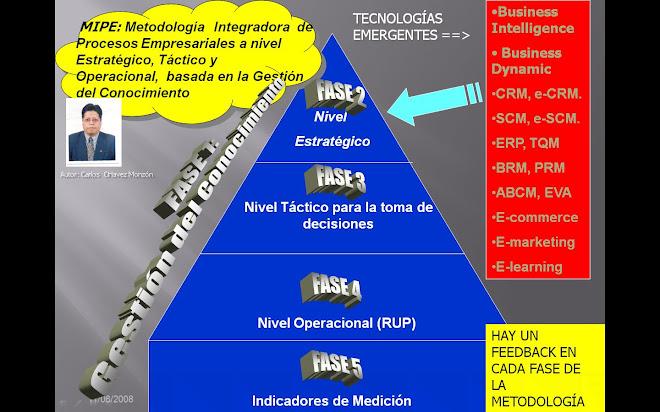 Grafico de la Metodología Integradora de Procesos Empresariales