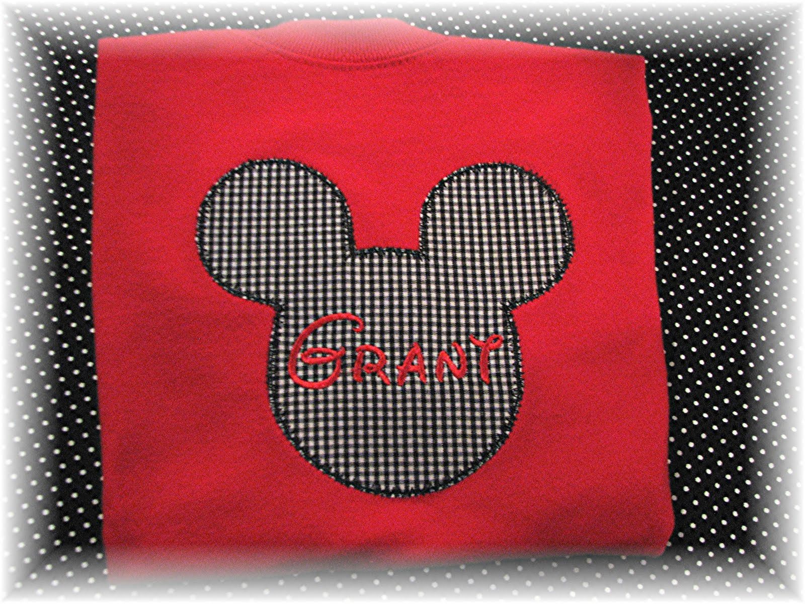Mickey Shirt with the name Grant