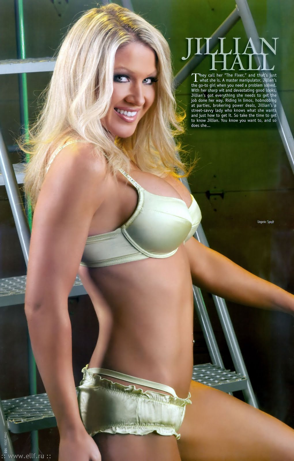 Something Jillian hall bikini seems