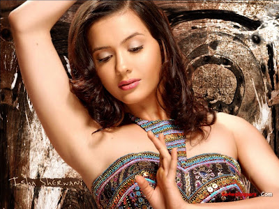 Isha Sharvani hot photo