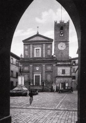 Ostra,Montalboddo,1938,Torre dell'orologio,Chiesa di San Giovanni