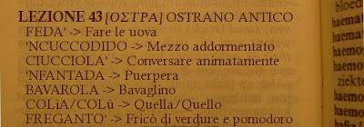 Ostra,dialetto ostrano,lez.43