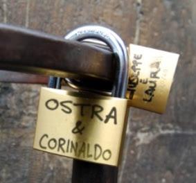OSTRA-CORINALDO-LUCCHETTO DELL'AMORE