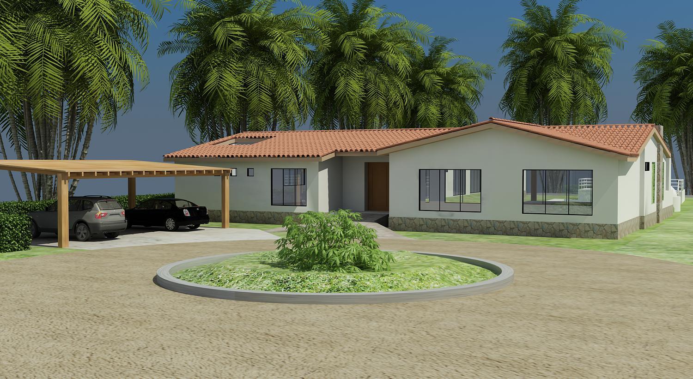 Casa de campo alex 3d design - Diseno de casas 3d ...