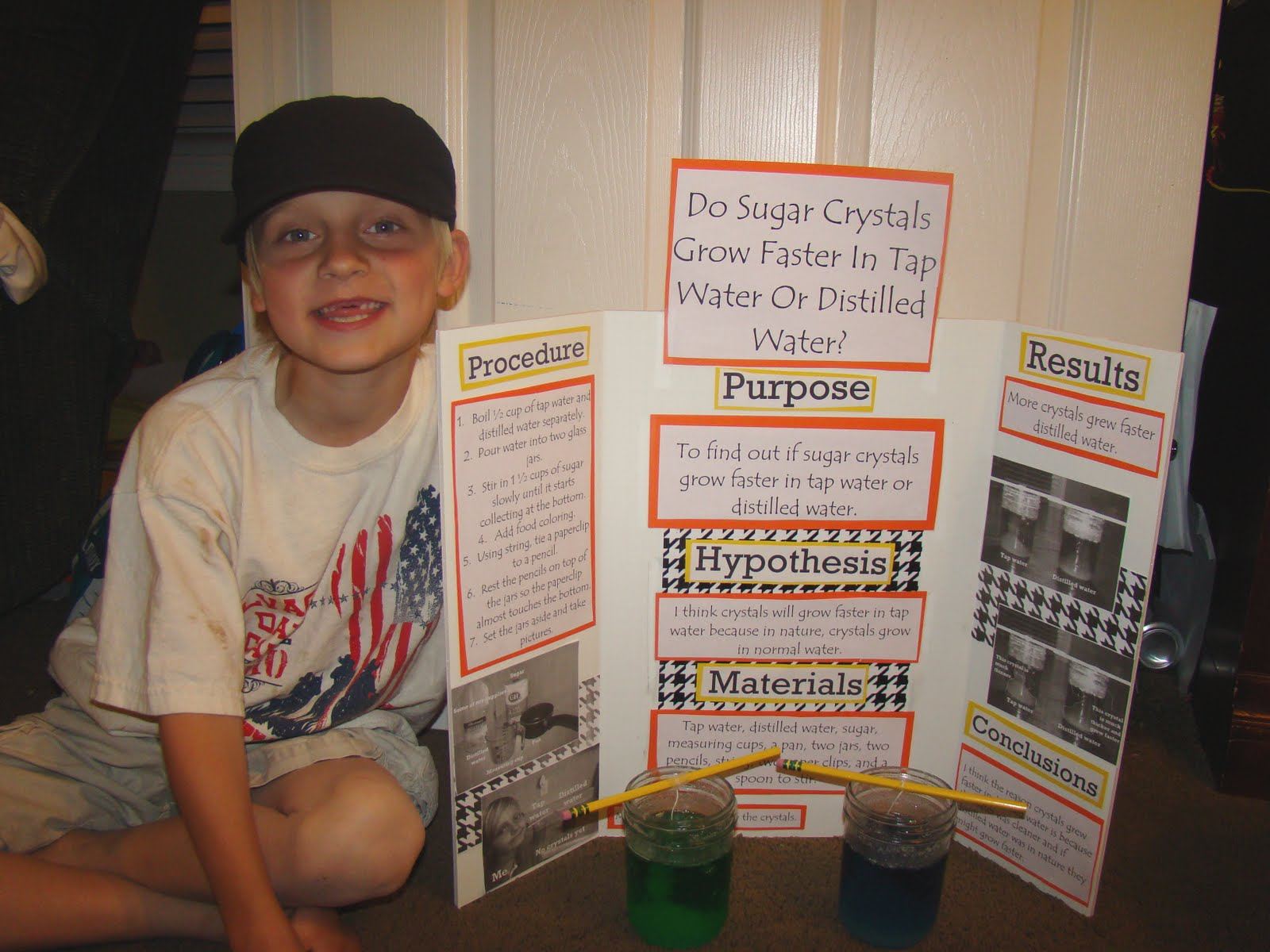 massing grown crystals essay By growing crystals from common materials such as salt and sugar you can see   summary to grow crystals you must start with a saturated solution as the.