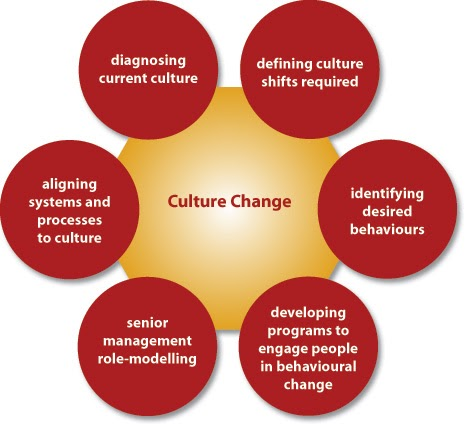 indentify the four strategies for changing and strengthening organizational culture Transforming a nonprofit organization—for example, changing a service model or delivery area, or adding a new set of beneficiaries— is not just an exercise in creating new strategies and processes to accomplish the organization's mission.