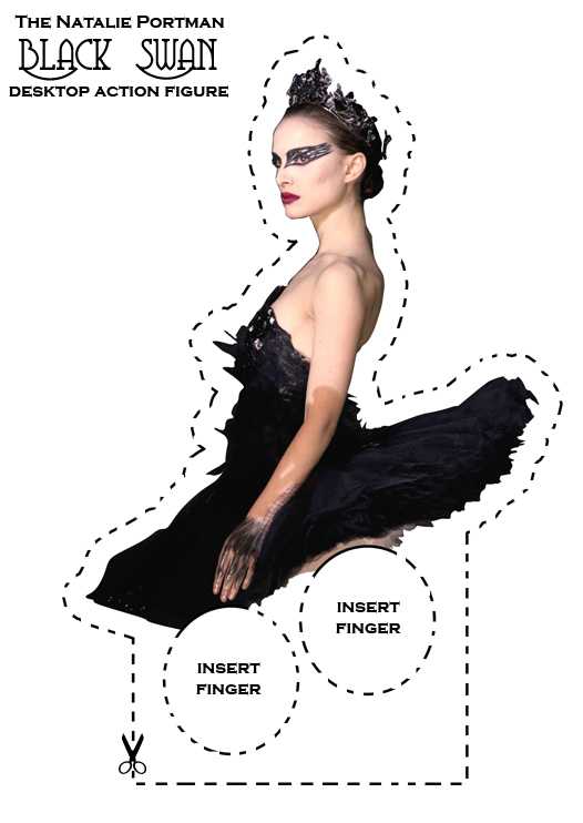 Natalie Portman: Black Swan Desktop Action Figure