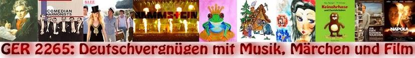 Deutschvergnügen mit Musik, Märchen und Film