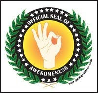 OFFICIAL SEAL OF AWESOMMES