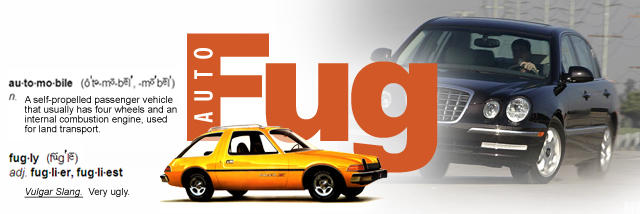 AutoFug - celebrating Ugly Cars throughout history