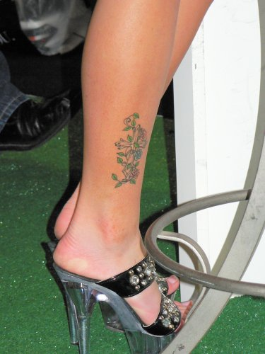 Have you been thinking about getting a sexy ankle tattoo design?