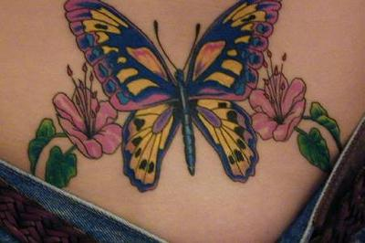 back lower tattoo