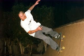 My, Brother, Jake, skating Half Pipe