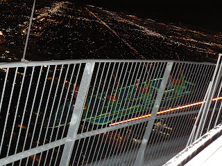 The scariest ride of my life - rocketing off the side of the Stratosphere Tower