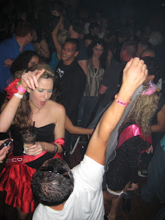 Dancing at Universal or Whiskey Girl, I can't remember which because I was too wasted by then.