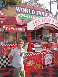 Chad in front of Ten Bound Buns