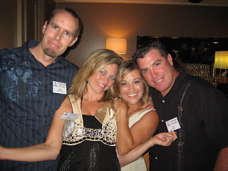 Noah, Tara, Julie & Joel at San Dieguito High School 20 Year Reunion
