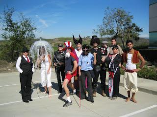 Halloween Group Shot at Work