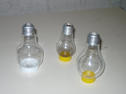 7) Old Light Bulb Flasks