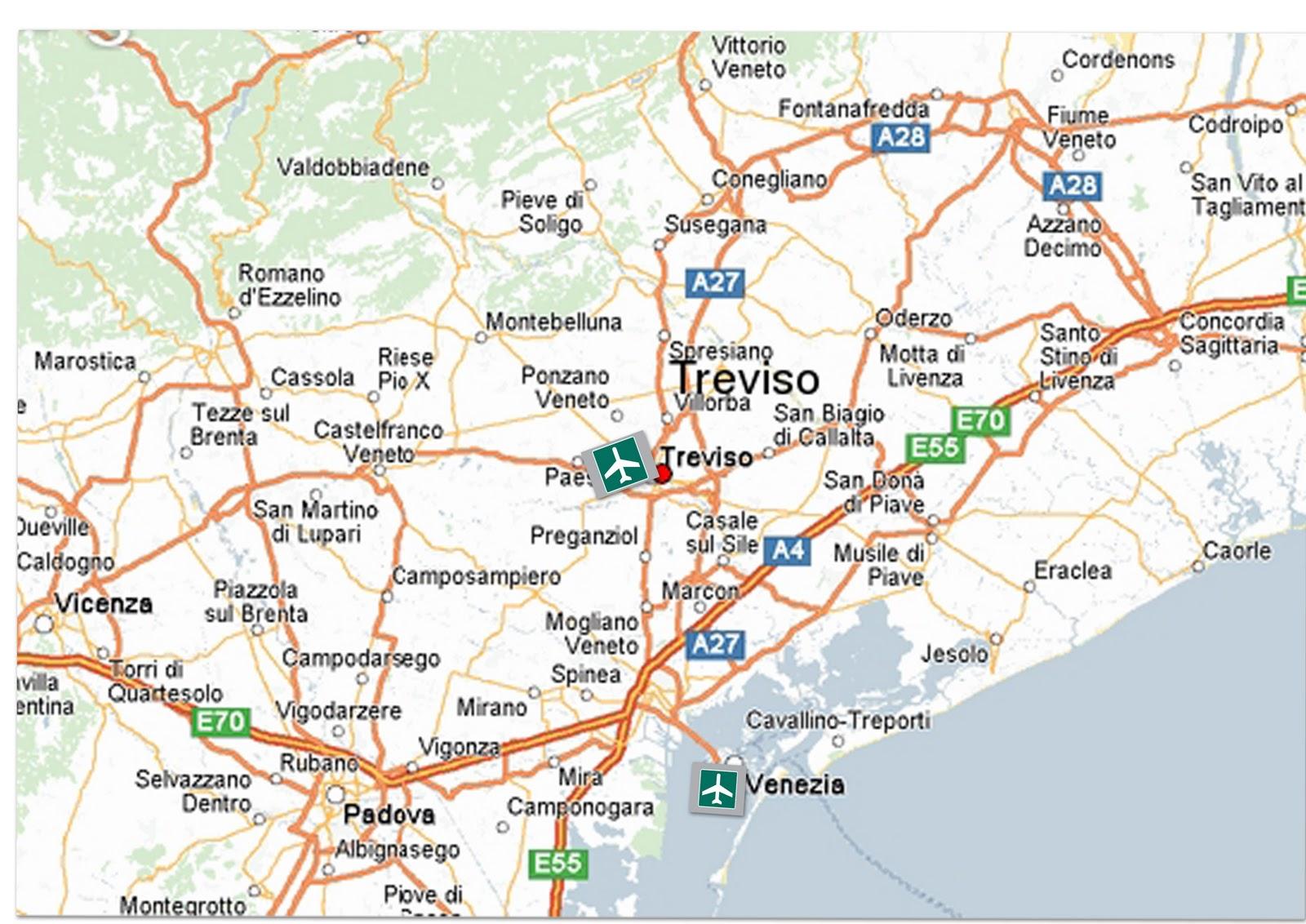 Airports of Venice: Treviso, Venice. Marco Polo and Venice-Lido 100