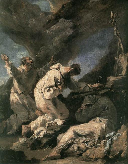 """Alessandro Magnasco """"Lissandrino"""", pintor genovês do Barroco e Rococó italiano"""
