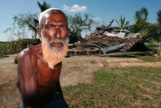Hurricane damage Kalapara, Patukhali District.Photo –Mahmud, Map/Concern, Nov 07