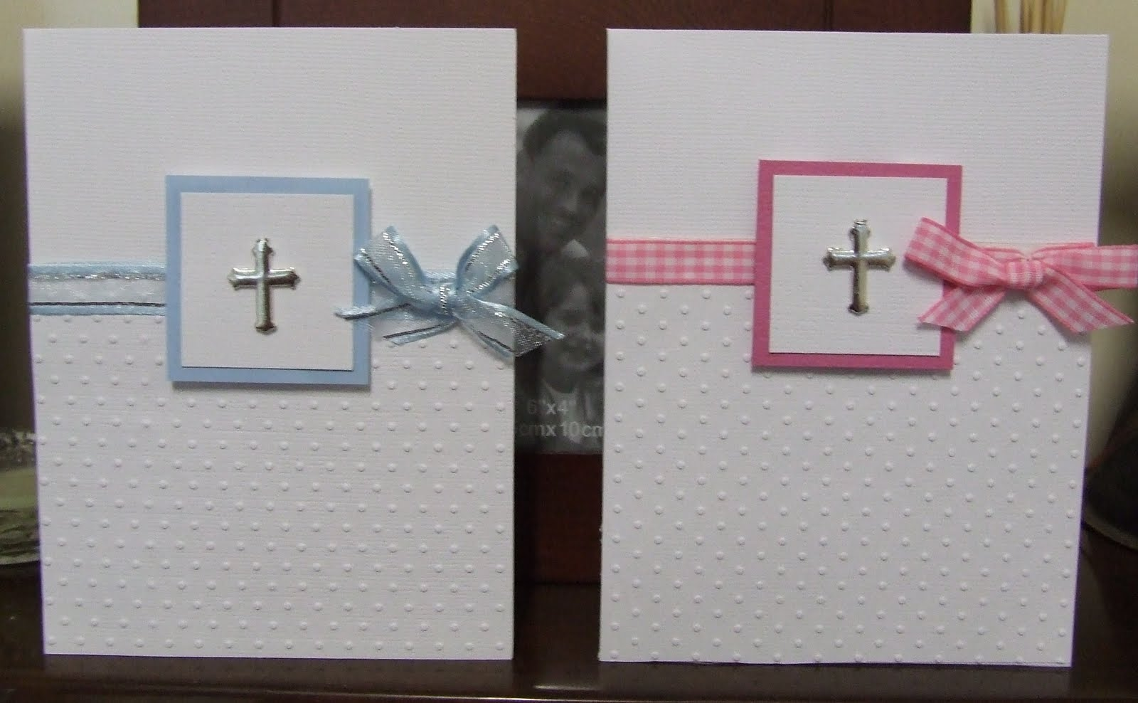 Amazing Christening Card Ideas To Make Part - 5: I Decided To Keep It Clean U0026 Classic - Sheu0027s Really Happy With It :) I Was  Pleased How It Turned Out And Decided To Make A Girl Christening Card Too.