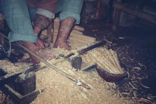 artesano en el zoco