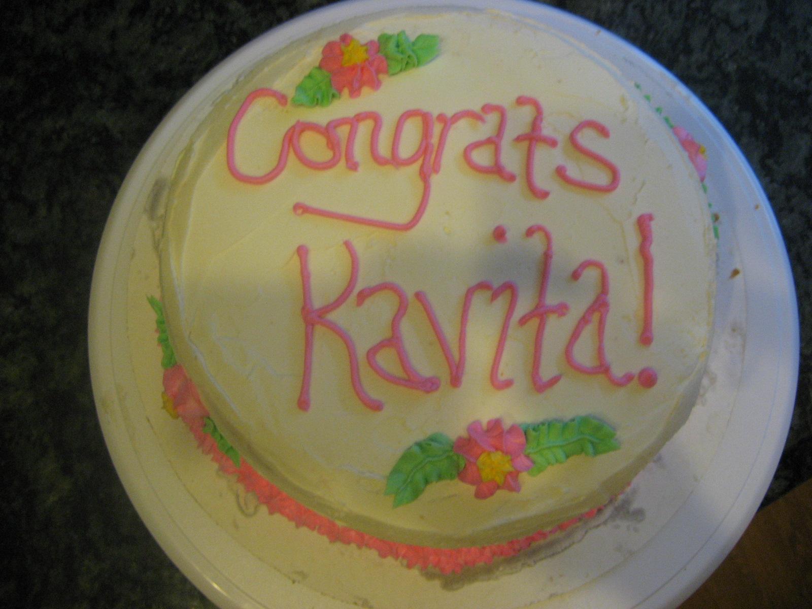 Lauren King Cakes: Baby Shower for Kavita