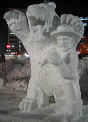 escultura-hielo-oso