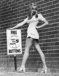 Diary of a Young Designer: History of the Mini Skirt/Dress ...