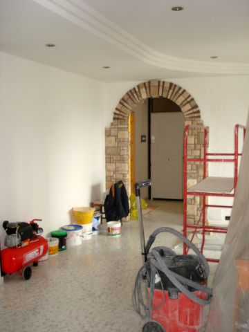 Claudio caruso decorazioni salone decorazione pareti for Pareti salone