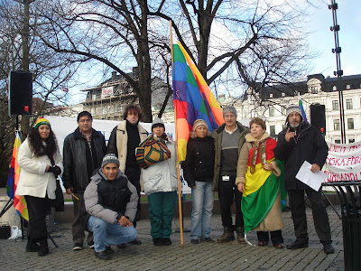 Bolivianos en el mundo