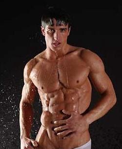 Shower Gay hunk