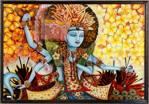 MALACHI LIVING: INDONESIAN GLASS PAINTING