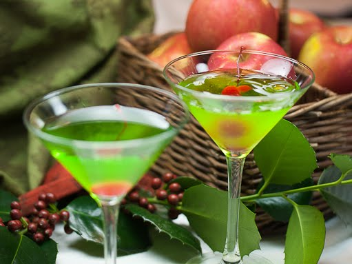 Green Appletinis