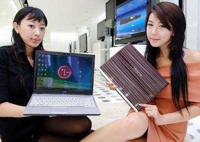 LG LED-backlit notebook p300