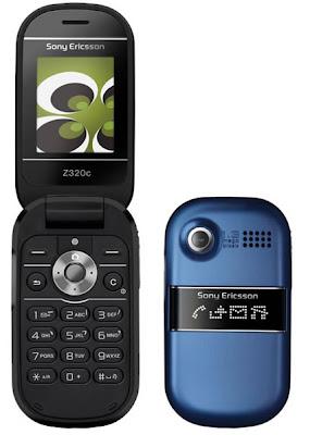 Z320 Azul GSM com Câmera de 1.3 Mpx e Viva-voz