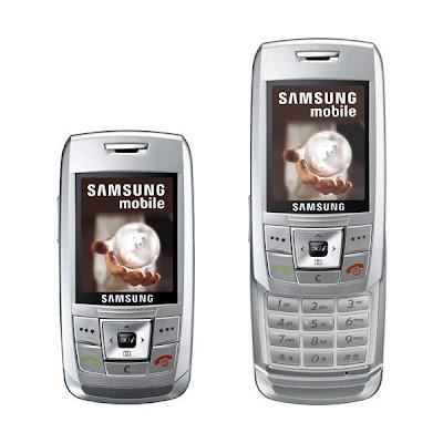 Samsung E250 Prata