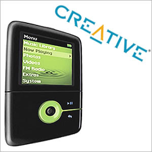 MP3 Player Creative ZEN V