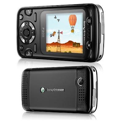 Sony Ericsson F305 Preto saiba mais
